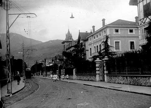 casas tolosa foto antigua