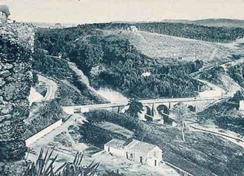 vista antigua fortaleza alcala guadaira