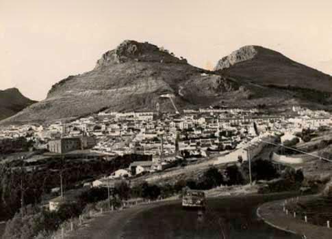 Fotografía Antigua de Archidona desde La Pedriza