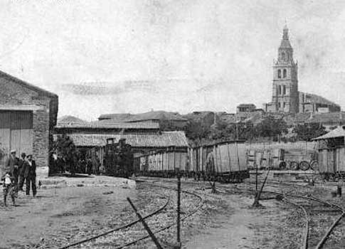 antigua estacion medina rioseco