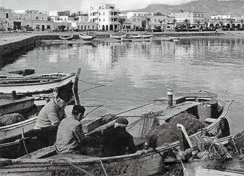Antigua Postal de Roquetas de Mar