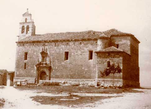 foto antigua iglesia san juan bautista alarcon