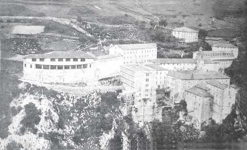 santuario arantzazu antiguo