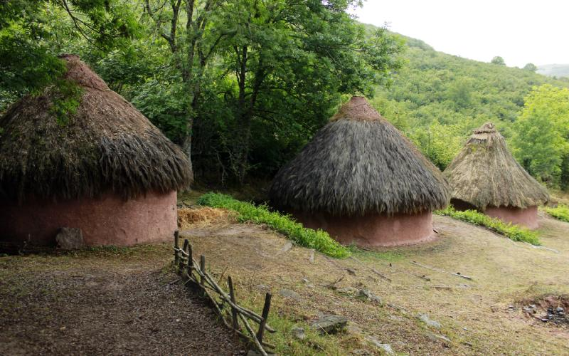 Poblado Cántabro de Argüeso hacer en Cantabria