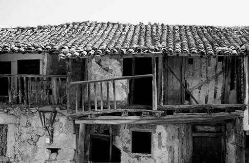 casa antigua san Martín del Castañar