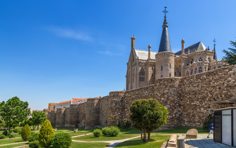 Astorga, extremo de la Vía de la Plata