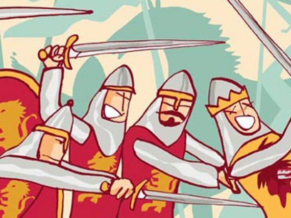 La Batalla de Atapuerca y los reyes asesinados