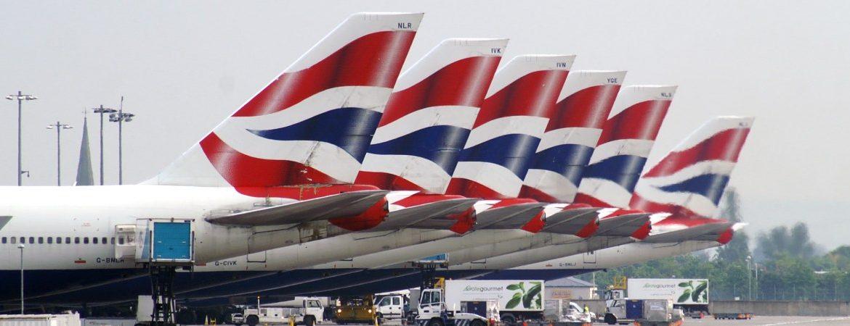 Turismo británico Reino Unido aviones