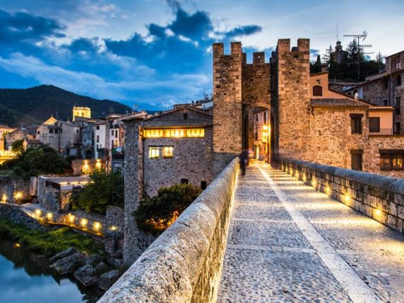 6 Impresionantes pueblos medievales de Cataluña