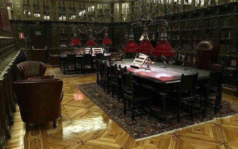 Biblioteca del casino de Madrid