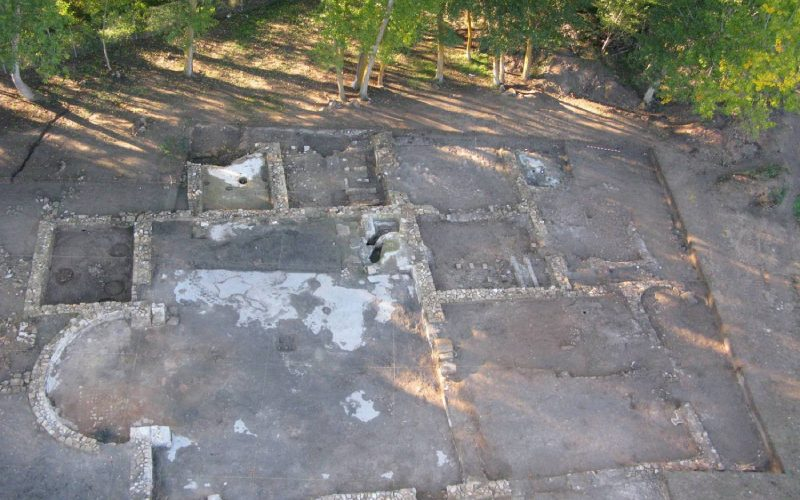 Balneum de la villa romana de Noheda