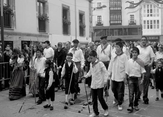 desfile campurrianos antigua fotografia