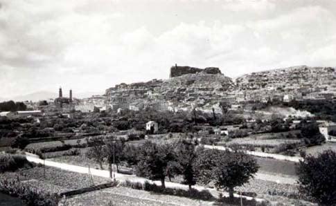 Antigua vista de Borja