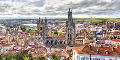 Catedral de Burgos y dónde dormir en Burgos