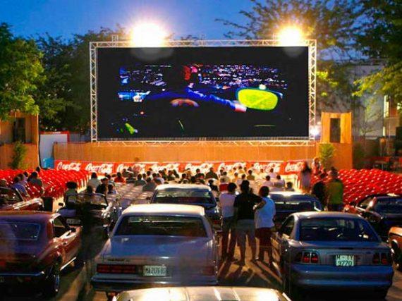 Cines de verano en ciudades españolas
