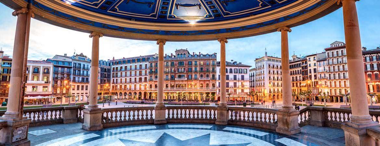Panorámica que ver en Pamplona