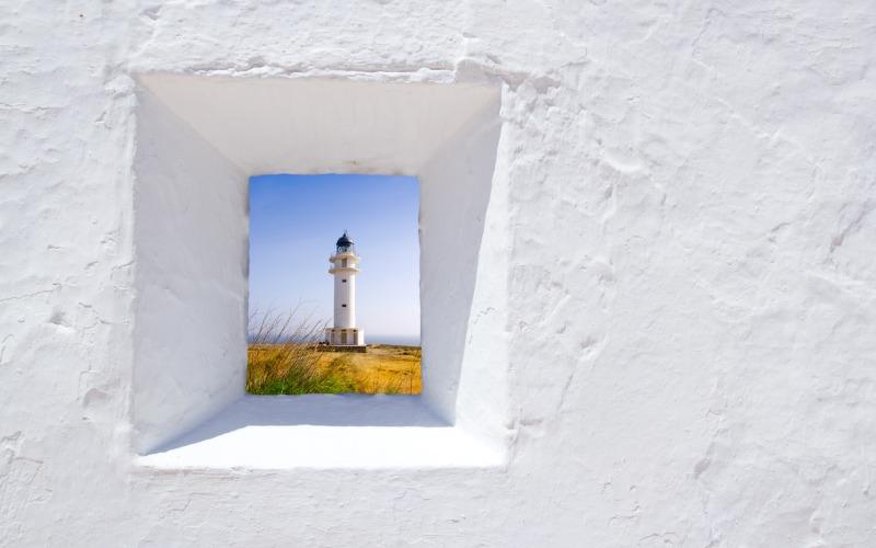 El faro de Barbaria se ha vuelto un icono de Formentera