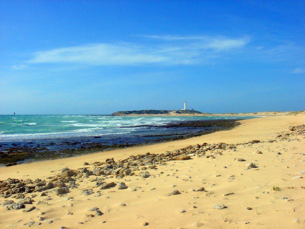 Cabo Trafalgar desde las playas del oeste de Caños de Meca