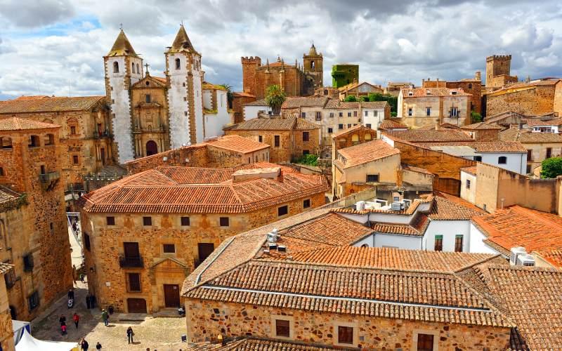 Cáceres y su casco antiguo