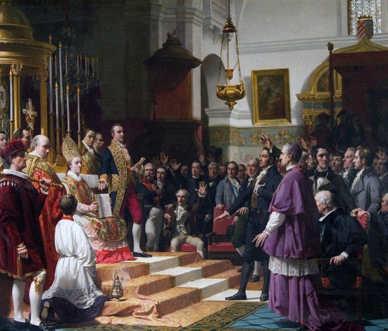 Juramento de las Cortes de Cádiz, de José Casado del Alisal