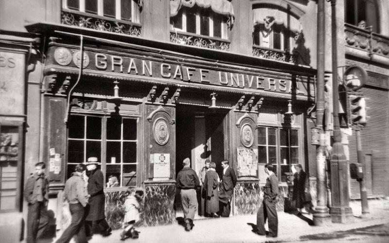 El Café Universal en 1938