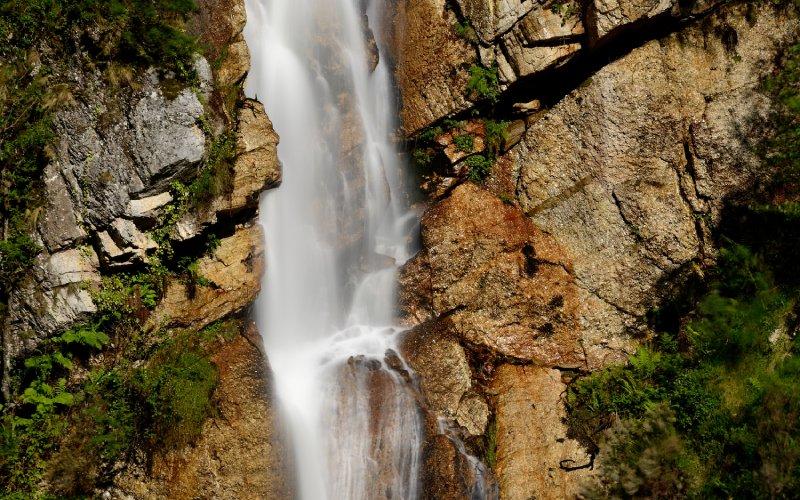 Cascada en el valle de Polaciones