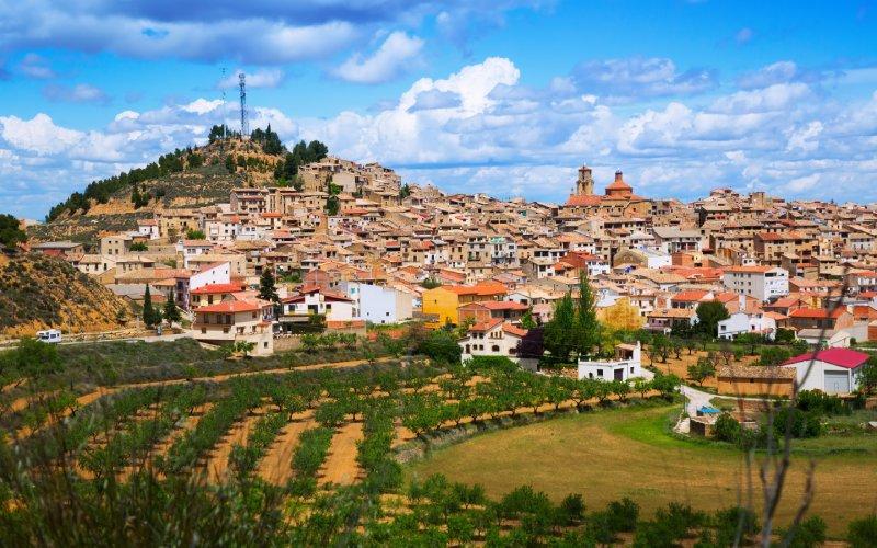 Calaceite destaca por sus calles y casas de piedra