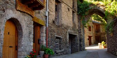 Calles medievales de Escaló