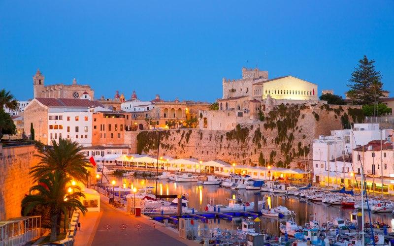 Puerto de Ciutadella Menorca
