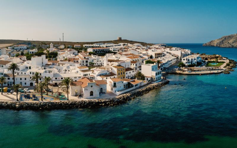 Panorámica de Fornells Menorca
