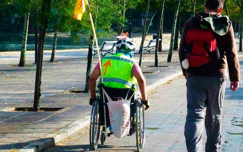 camino de santiago para personas con discapacidad