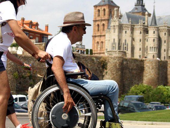 El Camino de Santiago en silla de ruedas