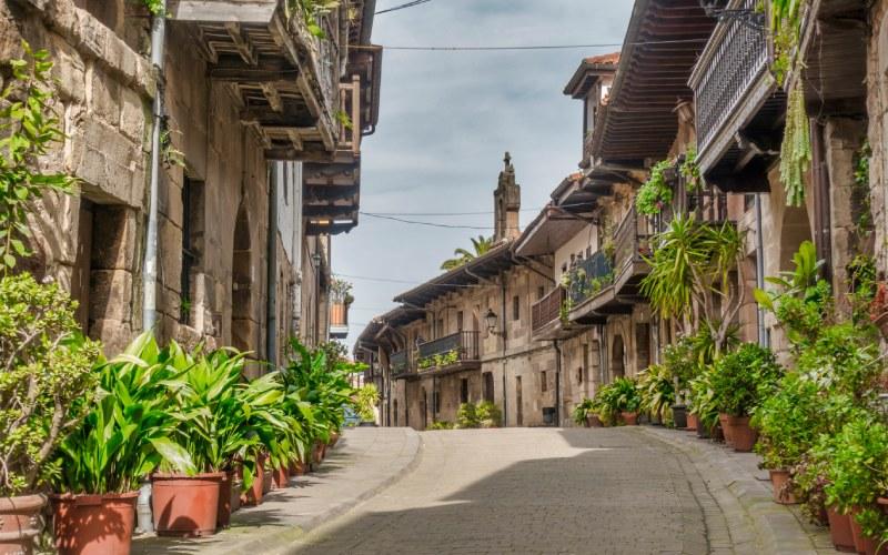 Calle Camino Real, en Cartes
