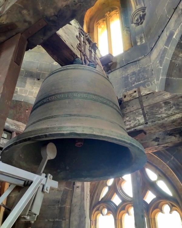 La campana de la Catedral de Oviedo es la más antigua de España