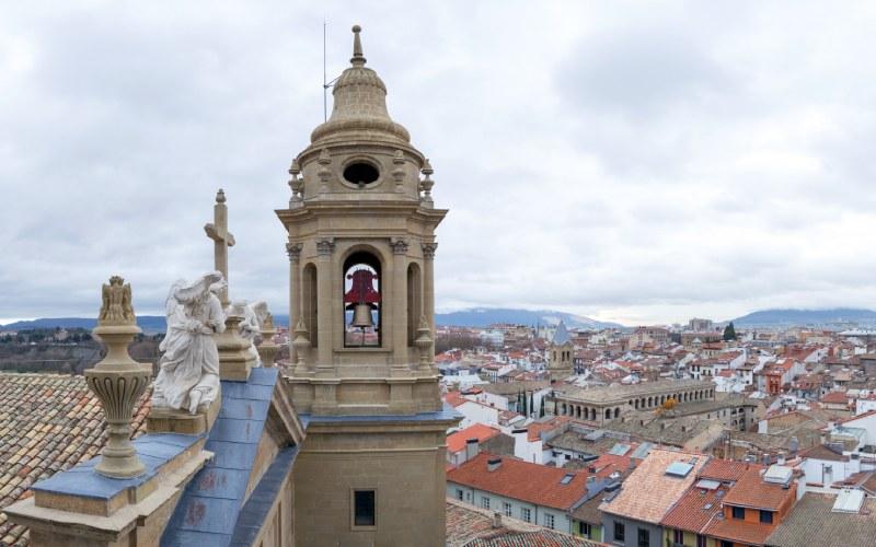 La campana María de Pamplona