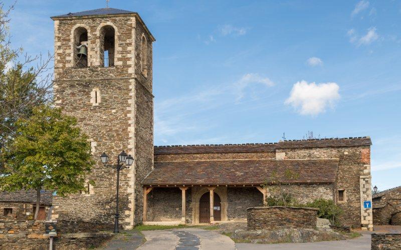 Iglesia de Santa María Magdalena campillo ranas