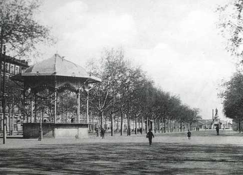 El Campo Grande de Valladolid antes