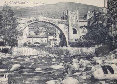 pont nou camprodon foto antigua