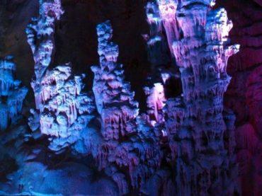 Cuevas del Canelobre de Busot, una auténtica catedral de roca caliza