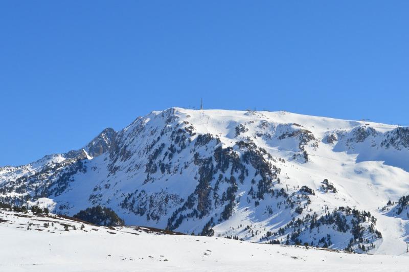 vista general del Cap de Baqueira, de donde sale una de las pistas de esquí más peligrosas de España