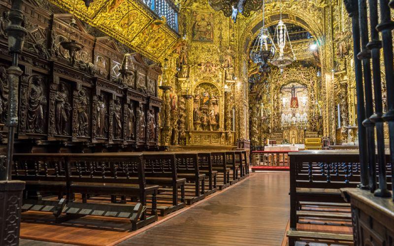 Capilla del Santo Cristo en la catedral de Ourense