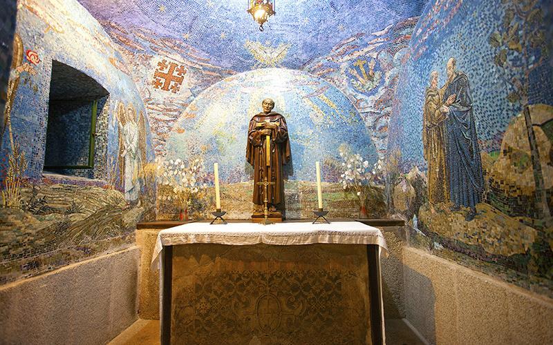 Capilla del convento del Palancar
