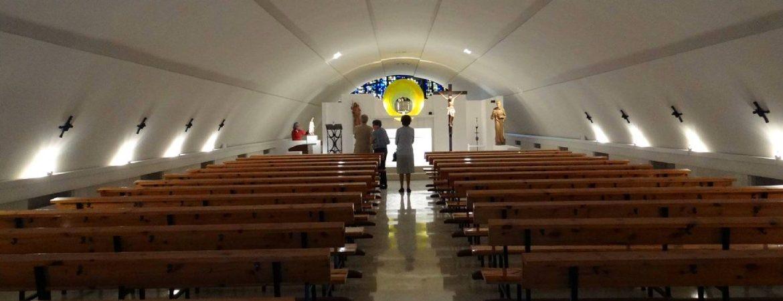 Estado actual de la capilla de Santo Domingo de la Calzada de la M-30