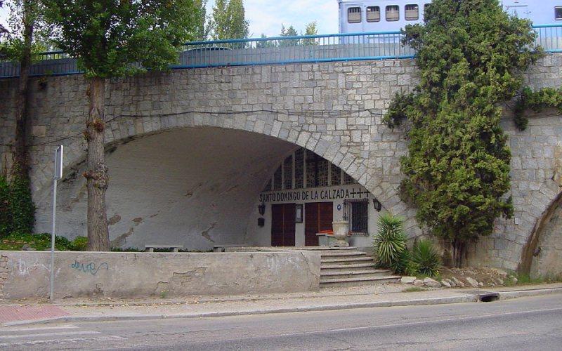 Capilla de Santo Domingo de la Calzada, bajo la M-30
