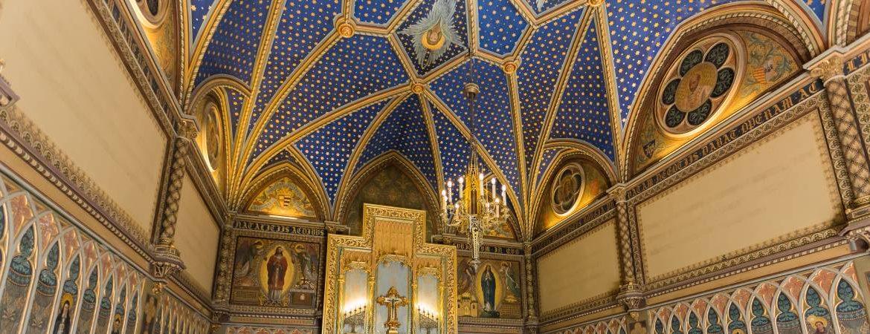 Capilla neogótica del palacio ducal de Gandía