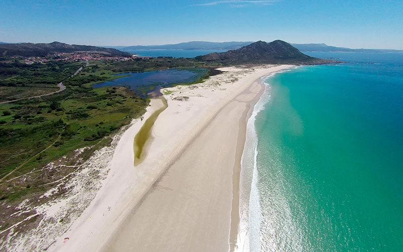 playas vírgenes de Galicia