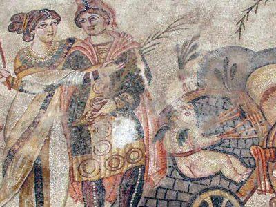 Villa romana de Noheda, con el mayor mosaico romano del mundo en plena Alcarria conquense