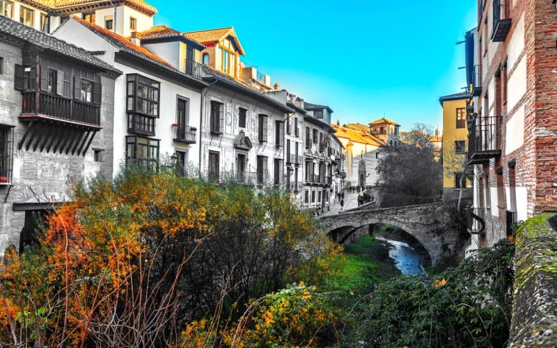 Entorno de la Carrera del Darro, Granada