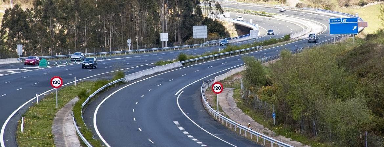 Carretera en España