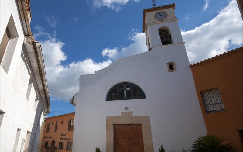 Iglesia de San Miguel en Carrícola